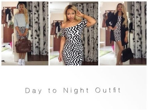 Day to Night Outfit | OOTD | OOTN | H&M, Zara, Forever21 …