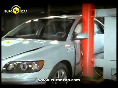 Euro NCAP Volvo S40 2004 Crash test