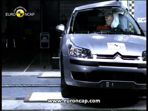 Euro NCAP Citroen C4 2004 Crash test