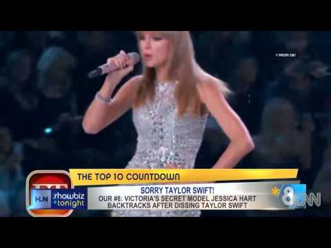 Swift dissed by Victoria's Secret model
