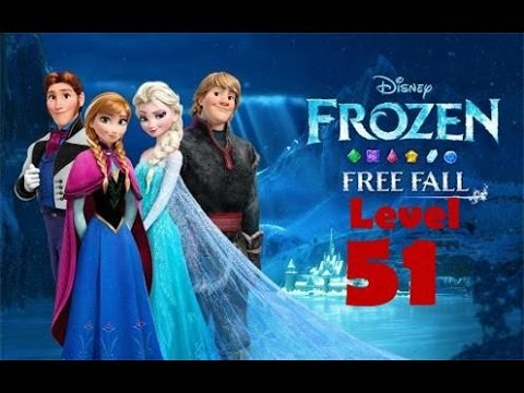 Disney FROZEN Free Fall [Level 51] [3-Star] Walkthrough GAMEPLAY 2014 Android Game HD