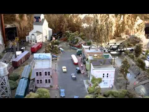 best model train layout