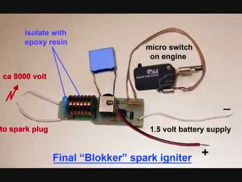 Homemade Miniature Spark Ignitor