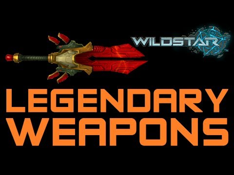 Wildstar Legendary Weapons and How They Work (All Classes Wildstar Legendary Weapon)