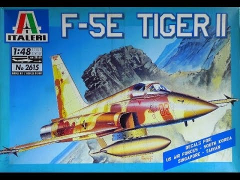 Italeri 1/48 F-5E Tiger II Build Part 2