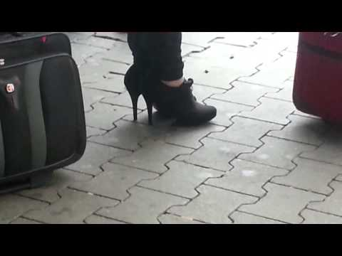Heels at the Airport