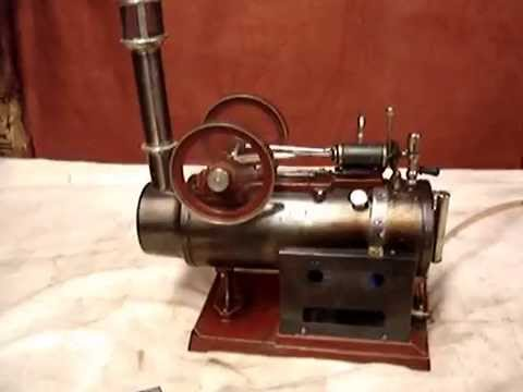 Doll overtype model steam engine
