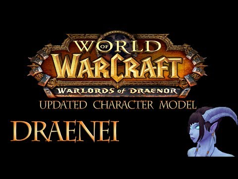 Draenei Character Model Update – April [Wow]