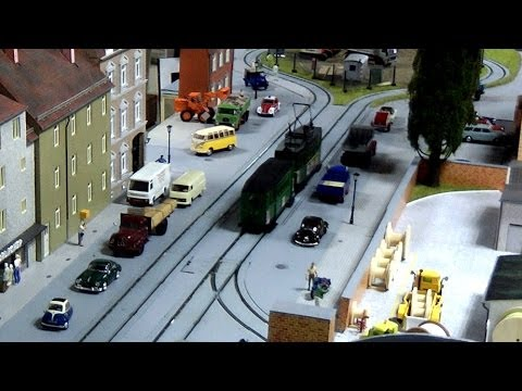 Model Tram and Tramway 0 Scale Modular Railway Layout