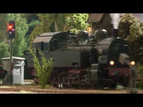 German Steam Locomotive O Scale with Sound