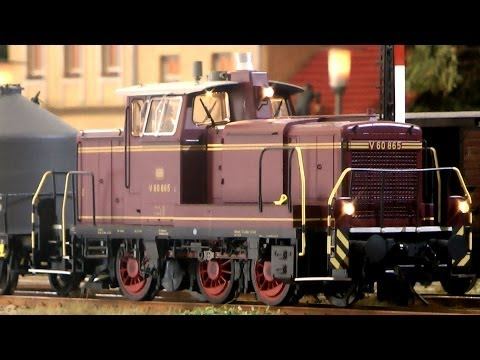 German Diesel Locomotive O Scale with Sound