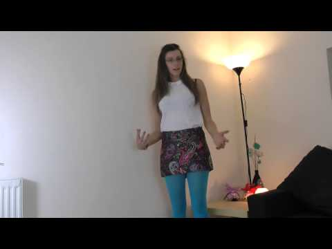 Tights Outfit of the Day – Opaque Footless Tights