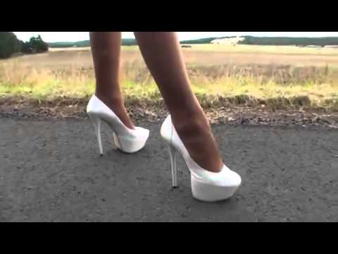 cheap WALKING AROUND IN SOME NICE HIGH HEELS BY TAMIA