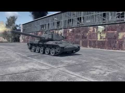 PANZER 3D-ANIMATION TRACKING