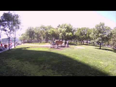 Construction of the James Webb Space Telescope Full Scale Model at Battery Park timelapse
