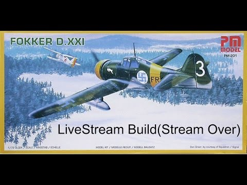 PM Models 1/72 Fokker D.XXI Live Build Final Revea