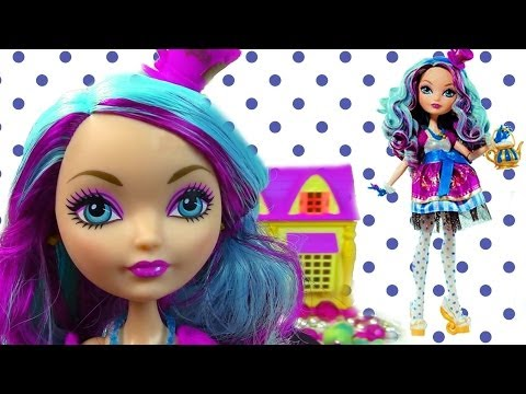 Madeline Hatter Ever After High Doll Review Opening Unboxing Monster