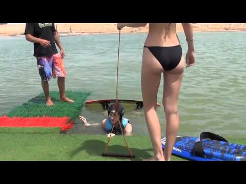 Contestants Top Model of the World @ Cable Park El Gouna Red Sea