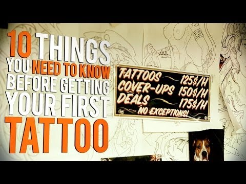 Tattoo Tips: Be Prepared