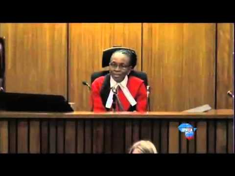Oscar Pistorius Trial: Judge Masipa warns the overflow courtroom