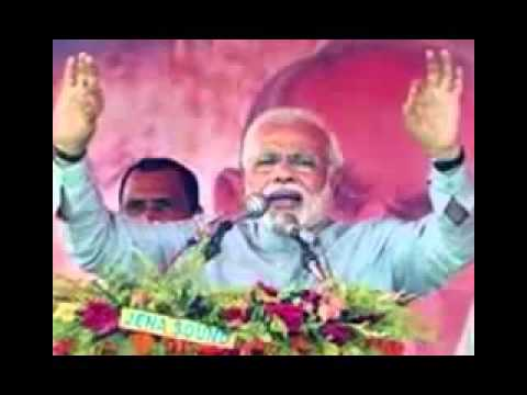 Narendra Modi takes on Rahul Gandhi over 'toffee model' jibe-15 april 2014