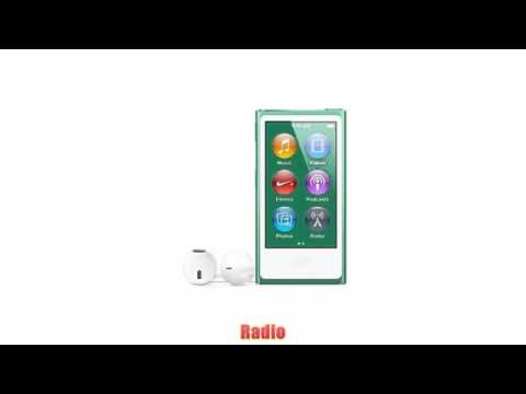 Apple iPod nano 16GB 7th Generation – Green  (Latest Model – Launched Sept 2012)