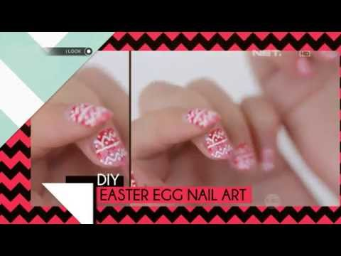 iLook – DIY – Easter Egg Nail Art