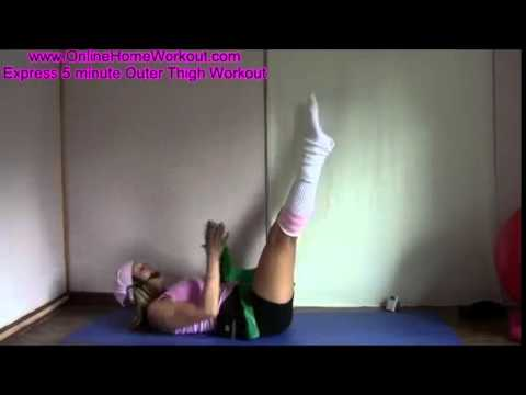Thigh Minute Workout BEST Outer 5 – Exercise Legs