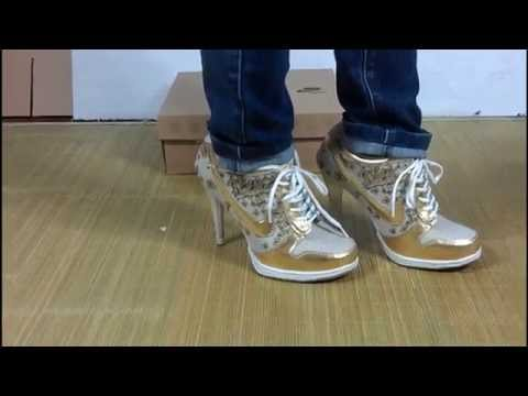 Cheap dunk high heels for sale in Wholesale Lots,Wholesale 2014 Womens Dunk High Heels Shoes