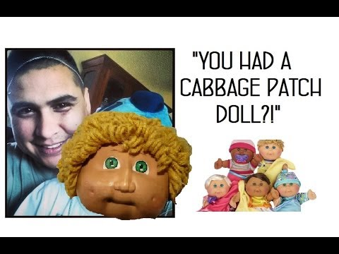 YOU HAD A CABBAGE PATCH DOLL?! -Weekly Vlog