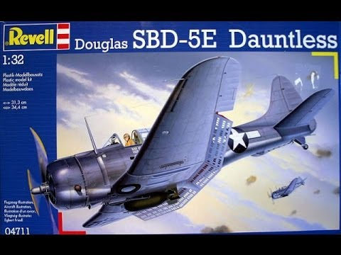 ISM 100 Years of Bombers GB Revell 1/32 Douglas Dauntless: Part 8
