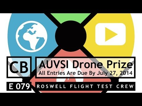 RFTC: Enter the AUVSI Drone Prize, Help Your Community and Win Cool Gear
