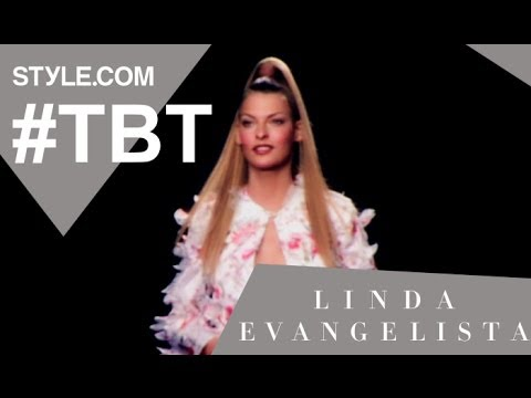 Linda Evangelista: The Fashion Chameleon – #TBT with Tim Blanks – Style.com