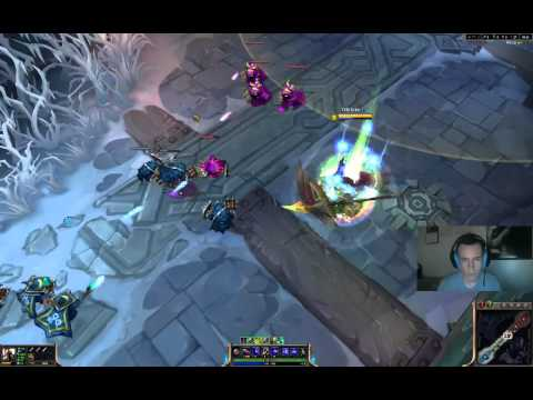 DragonSlayer Pantheon Skin Spotlight W/ Ability Sounds – League of Legends – LOL Gameplay