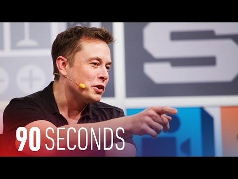 Elon Musk fights old transportation with Tesla and SpaceX: 90 Seconds on The Verge