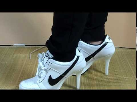 2014 Discount Nike High Heels Review+On Feet