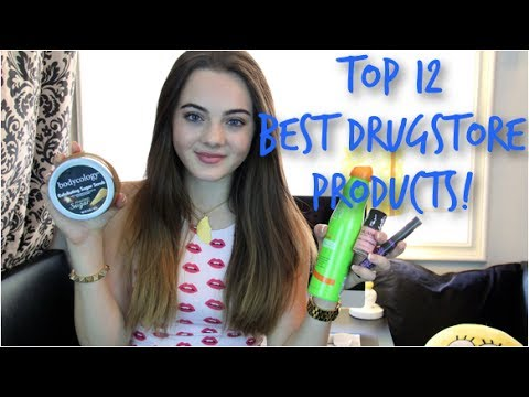 Top 12 Beauty Drugstore Products! – 2014