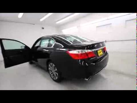 Exclusive 2015 Honda Accord Sport   Crystal Black 2015