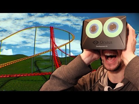 Oculus Rift Rollercoaster   MAYBE I'M OVER MY FEAR OF HEIGHTS…..NOPE!