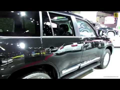 014 2014 Toyota Land Cruiser V8 Exterior and Interior Walkaround 2013 LA Auto Show ! By Kayseri