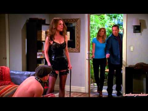 Two and a Half Men (TV-series 2014) – leather scene HD 720p