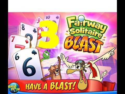 Fairway Solitaire BLAST:  Walkthrough [Level 3]  3-Star 2014 Android GAMEPLAY