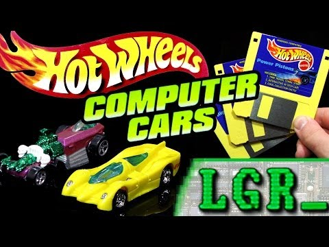 LGR – Hot Wheels Computer Cars Review