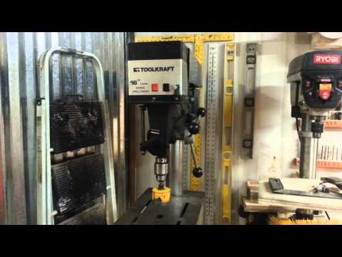 Floor Model Drill Press  Mounting Trick