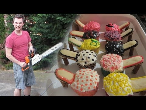 Chainsaws & Cupcakes (Day #120)