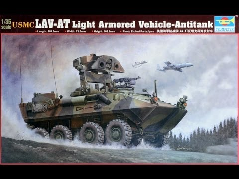 Trumpeter 1/35 LAV-AT Build Part 3