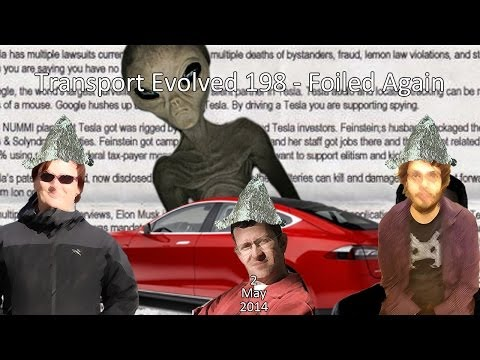 Transport Evolved Electric Car Panel News Show Episode 198: Foiled Again