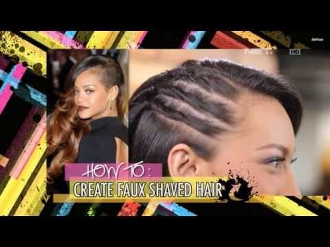 iLook – How To – Create Faux Shaved Hair