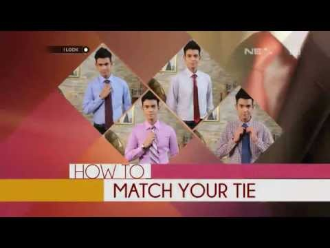 iLook – How To – Match Your Tie