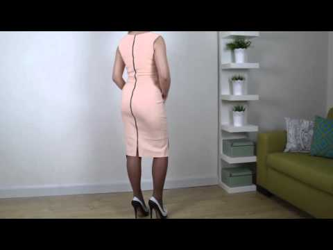Outfit of the day – Dress,High Heels And Pantyhose 2